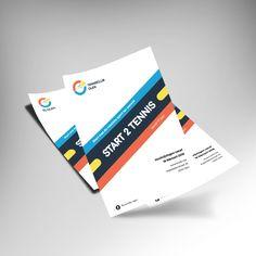Flyer mockup primair logo
