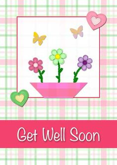 free printable Get Well Soon Messages | Printable Get Well Cards