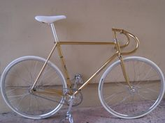 24K GOLD CINELLI track bike