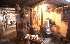 The cosy interior of the long established Les Vieilles Luges, a highlight of Chamonix restaurants