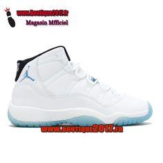 on sale d9498 fe966 Funny Shoes · Air Jordan 11 Retro BG(GS) Legend Bleu Blanc Legend Bleu  378038-117