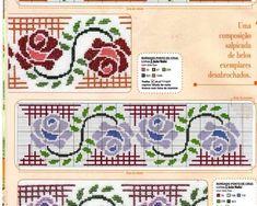 ponto-cruz-flores-rosas-500x400 78 gráficos de flores em ponto cruz para imprimir