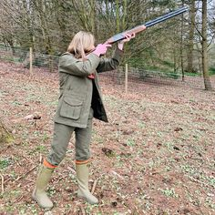 Alan Paine Berwick Ladies Waterproof Coat & Breeks Le Chameau Chasseur Neo boots House of Cheviot burnt orange socks Shooting Boots, Shooting Clothing, Game Shooting, Body Sock, Orange Socks, Better Length, Waterproof Coat, Hunting Clothes, Country Outfits
