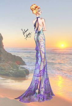 Disney Princess Summer Collection 2015 by Guillermo Meraz - Cinderella