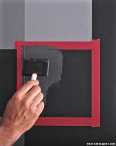 how to make your own chalkboard paint--- but where can one buy the un-sanded tile grout that is not a huge packet?    I ended up buying the tint of my choice at Hope Depot