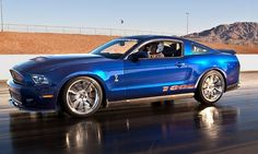 Shelby American boosts Ford Mustang to 1,100 hp for 50th-anniversary car
