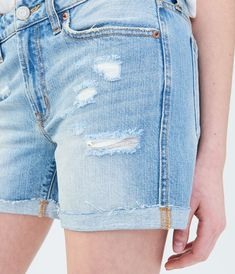 069798b789 Light Wash Tomboy Denim Shorts Rolled Hem, Tomboy, Sabrina Carpenter, Jeans  Pants,