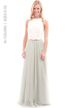 Revelry - Aubrey Top, $85.00 (http://wedding.shoprevelry.com/aubrey-top/)