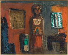 Mario Sironi, Idolo, 1955.