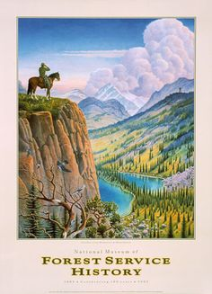 Guardian Of The Headwaters #forest-service #headwaters-of-the-missouri #horse #landscape #national-parks #park-ranger