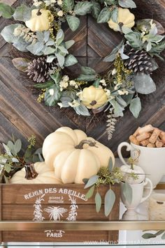 DIY Home Decor: Fall Home Tour - Home Stories A to Z