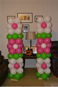 Image result for How to Make Balloon Columns Arches