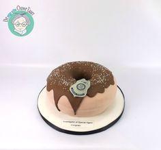 Leuke donut taart!