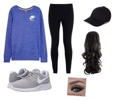 """""""Untitled #77"""" by arbaugh-madison on Polyvore featuring NIKE, women's clothing, women, female, woman, misses and juniors"""
