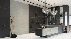 Kamień dekoracyjny Horizon Sahara/Stone Master. Produkt zgłoszony do konkursu Dobry Design 2018. Bathroom Lighting, Mirror, Stone, Frame, Furniture, Home Decor, Design, Bathroom Light Fittings, Picture Frame