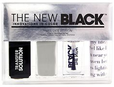 Typography 4-Piece Nail Lacquer Set, Times Late Edition 1 ea