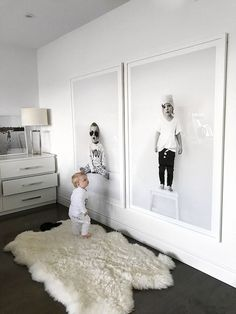 Honey…I blew up the kids. Ok, not really but I totally turned my favourite kid… Honey…I blew up the kids. Ok, not really but I totally turned my favourite kids portraits into giant wall art. And you guys, it turned out SO GOOD! When I fo – Wall Art Room Interior, Interior Design Living Room, Interior Plants, Contemporary Interior, Luxury Interior, Kids Bedroom, Bedroom Decor, Decor Room, Entryway Decor
