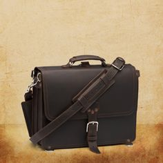 men's leather bag - tough leather will last a lifetime - very casual