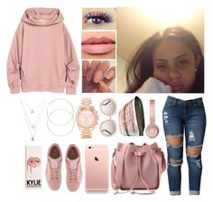 """Untitled #902"" by lovelyxox ❤ liked on Polyvore featuring Puma, Chloé, Beats by Dr. Dre, Michael Kors, H&M and Wet Seal"