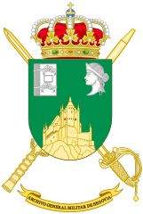 Coat of Arms of General Military Archives of Segovia.svg
