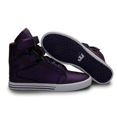 Supra España Tiendas - Hombres Supra TK Society Deep Purple Blanco Skate 49456,zapatillas supra mujer,primer plano,Zapatillas Supra - Comprar Supra Online - EnvÍO Gratis