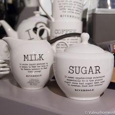Riverdale Sugar & Milk set Love