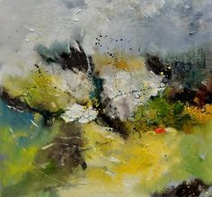 abstract 774160, painting by artist ledent pol