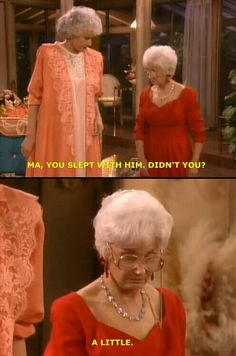 The Golden Girls. My fave show. Golden Girls Quotes, Girl Quotes, Woman Quotes, Golden Girls Funny, Funny Quotes, The Golden Girls, Movie Quotes, Funny Memes, Best Tv Shows