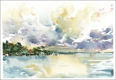 watercolor FL by MarcT Holmes