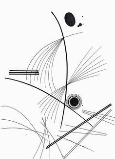 pen drawing/ 요가 동작의 팔다리 움직임을 여러 선을 통해 율동감 표현/펜 마카-