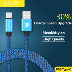 183 sold in 30 days for 1.49$ on AliExpress. Click image to visit --Original SAUFII USB Type C Cable for Macbook OnePlus 2 3 Type-C Charger Wire ZUK Z1 2 USB Type C Cables Fast Charging Letv