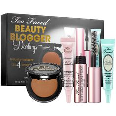 New at #Sephora: Too Faced Beauty Blogger Darlings Set #giftsets #makeup