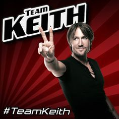 Why yes, I am, always have been, and always will be Team Keith...now if he would just do some not so commercial music and cover a Gram Parsons song...oh yeah, and give me a hug...