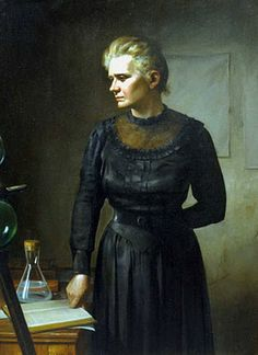 Marie Skłodowska Curie (7 November 1867 – 4 July 1934) was a physicist and chemist of Polish upbringing and subsequent French citizenship. She was a pioneer in the field of radioactivity and the first person honored with two Nobel Prizes: in physics and chemistry. She was also the first female professor at the University of Paris