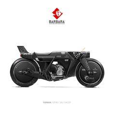 "rhubarbes: ""Barbara Custom Motorcycles - Photoshop Preparations """