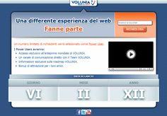 Ma perché quando si fa partire un nuovo progetto web si cura zero il web design? Volunia non fa eccezione...