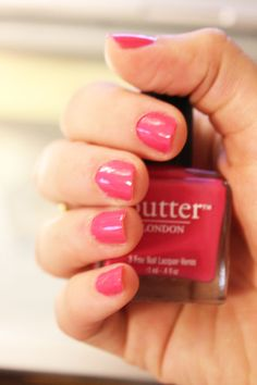 Mani Monday! #manimonday Butter London's Primrose Hill! Great summer color!