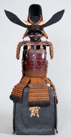 水野勝成 Mizuno Katsunari (1564 - 1651). 水野勝成所用 革包二枚胴具足(広島県重要文化・財賢忠寺蔵)