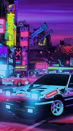 Jdm Wallpaper, Wallpaper Animes, Trippy Wallpaper, Ae86, Tuner Cars, Jdm Cars, Gaming Wallpapers, Car Wallpapers, Stock Car