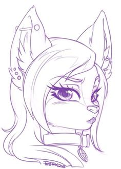 Hello this is Pollo-Chan! I am a furry/anthro artist. I enjoy cute and sexy things. Cute Animal Drawings, Kawaii Drawings, Cute Drawings, Drawing Base, Manga Drawing, Anime Furry, Furry Drawing, Anthro Furry, Anime Animals
