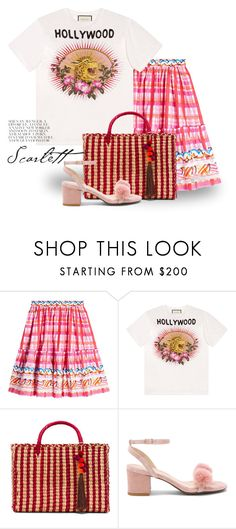 """""""Aug 3rd (tfp) 4091"""" by boxthoughts ❤ liked on Polyvore featuring Peter Pilotto, Gucci, Nannacay, Raye and tfp"""