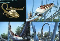 Jet Scream at Six Flags over Mid America!  Remember this?!?!