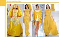 Модные цвета 2012. Солнечная Энергия