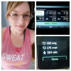 20 min run after work since I did a DVD on my lunch hour :) the first mile was ran in 8:20!  #100lbs #diet #extremeweightloss #gettinghealthy #journey #losingweight #lowcarb #obese #overweight #selfesteem #transformation #weightloss #naturalweightloss by courtneyislosing1983