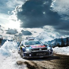 Volkswagen Polo WRC HD Wide Wallpaper For Widescreen Wallpapers