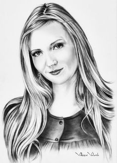 Custom Portrait Pencil Drawing from your photo by VittoriaArt