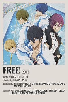 Free Anime Movie, Anime Schedule, Manga Anime, Anime Art, Simple Anime, Anime Titles, Anime Recommendations, Anime Stickers, Minimalist Poster