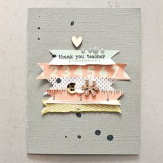 Thank You Card >> Maggie Holmes Studio Calico Oct Kits by maggie holmes at @Studio_Calico