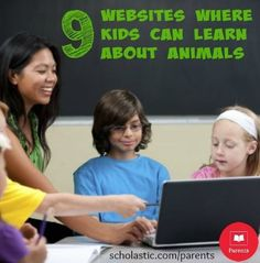 10 animal websites you can explore with your kids.