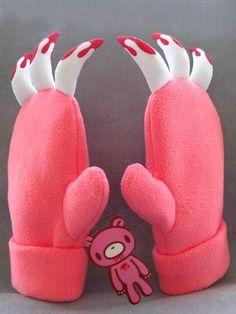 These look like fun  gloves! Gloomy Bear Gloves GBGL4821